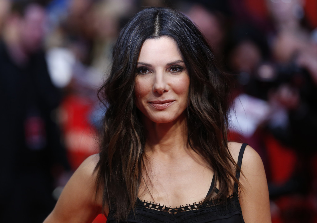 """Actor Sandra Bullock attends the UK gala screening of """"The Heat"""" at the Curzon Mayfair in London, June 13, 2013. REUTERS/Olivia Harris (BRITAIN - Tags: ENTERTAINMENT) - RTX10MOS"""