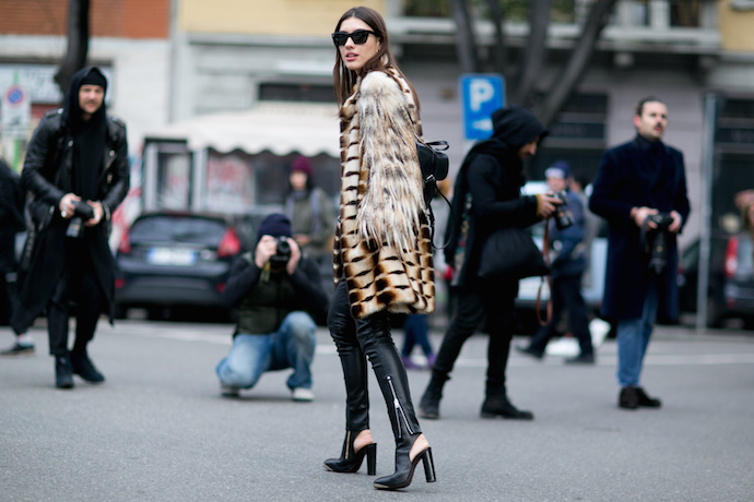 street-style-mens-fashion-week-fall-winter-2015-2016-leather-pants