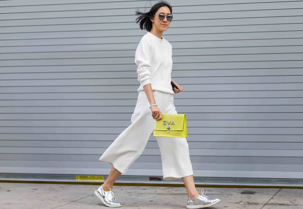 EXCLUSIVE New York Fashion Week S/S 2016 - Streetstyle Featuring: Eva Chen Where: New York City, New York, United States When: 13 Sep 2015 Credit: The Styleograph/WENN.com